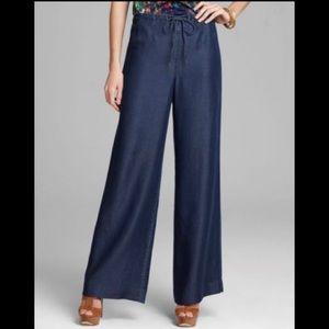 Elie Tahari pallazo jeans, M